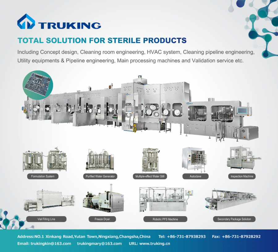 Truking: Total Solution for sterile products